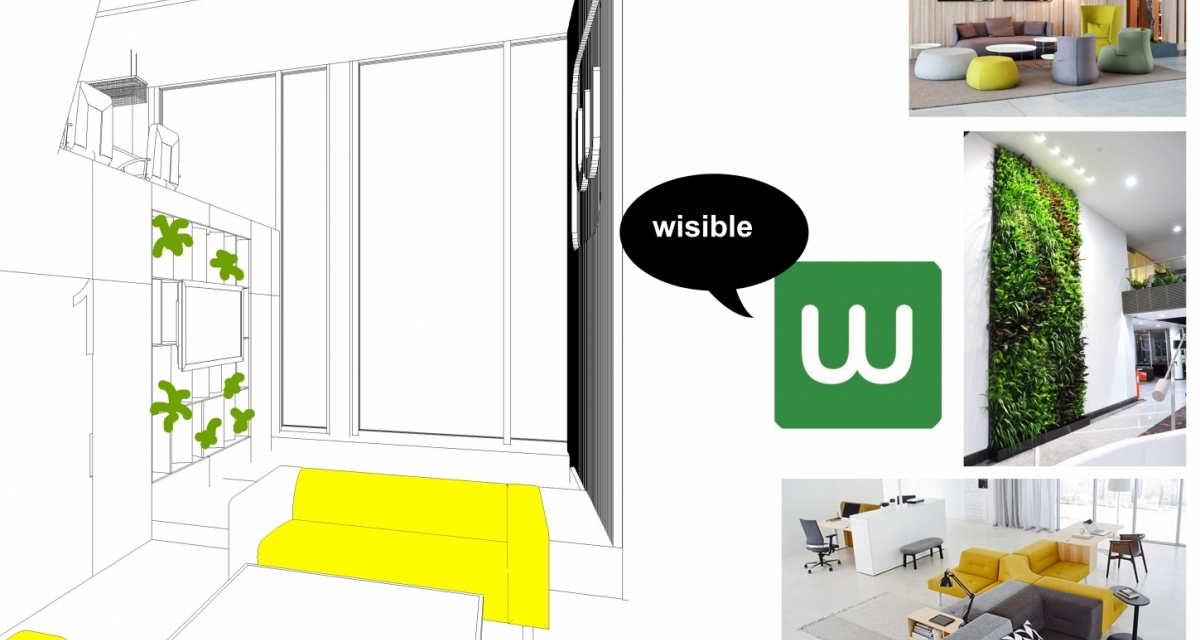 Interiéry / Office Wisible